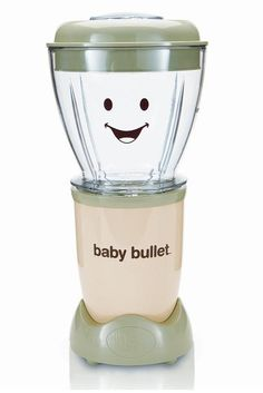 Baby Bullet rocks! Saving so much money on baby food, we control the ingredients. Highly recommend to new moms and dads.