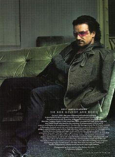 Bono will always be my favorite.