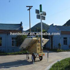 Hybrid Solar Wind Power Generation Light Tower $12000~$13500