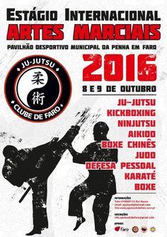 Estágio Internacional de Artes Marciais – Faro 2016