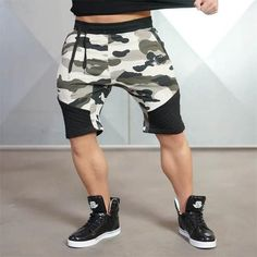 Casual Gym Shorts  MensFashionShorts Ropa Para Gimnasio 7cd2133b8a13