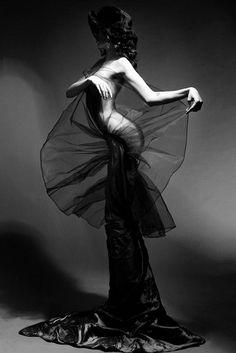 Black and white photos....