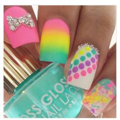 Bright and fun colors!! Perfect for the summer!