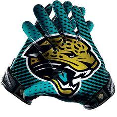 Nike Jacksonville Jaguars Vapor Jet 2.0 Team Authentic Series Gloves