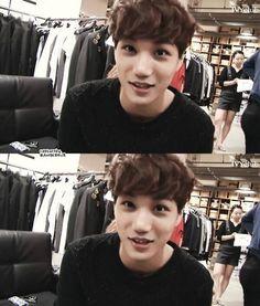 "Exo - Kai ""I want to pinch your cheeks. Btob, Cnblue, Chanyeol Baekhyun, Exo Kai, 2ne1, Exo Group, Culture Pop, Korean People, Big Bang"