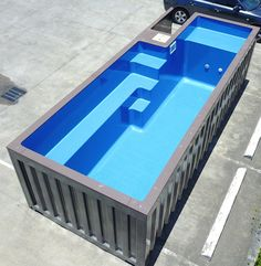 Shipping containers 806566614500529918 - Source by Building A Container Home, Container Buildings, Container Architecture, Container House Plans, Container House Design, Shipping Container Swimming Pool, Shipping Container Home Designs, Shipping Containers, Small Backyard Pools