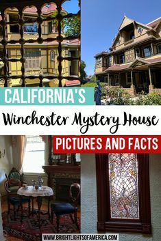 "See the spooky Winchester Mystery House from the inside with this virtual tour. The home of the heiress to the rifle fortune in California. This ""haunted"" house is gorgeous, and has plenty of tales to keep you fascinated! 