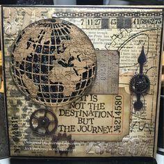 I just love this globe die! | JoJos whimsy