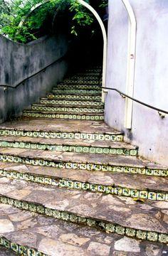 Steps to La Villita; Photography,   www.carolroper.com
