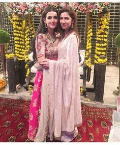 "389 Likes, 5 Comments - Elle Pakistan (@ellepakistan) on Instagram: ""Our two fav #Natasha and #mahirakhan at a recent event  #ellepakistan #pakistan #karachi #lahore…"""