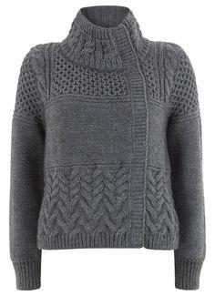 Charcoal Stitch Coatign