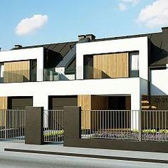 Dom w zabudowie bliźniaczej, z poddaszem użytkowym i garażem jednostanowiskowym...