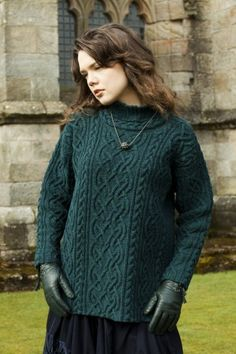 I've been in love with this sweater FOREVER!!! St. Brigid by Alice Starmore