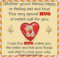 A very special hug just for you