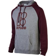 Plan B Alma Mater Pullover Hoodie - Men`s $37.09 (save $12.36)