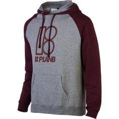 Plan B Alma Mater Pullover Hoodie - Men`s $37.09 (save $12.36)