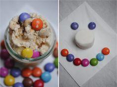 Marshmallow & Smarties Ice Cream