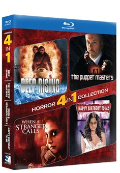 New Age Mama: Blu-ray Horror 4-Pack from Blue Creek Entertainment - Review & #Giveaway