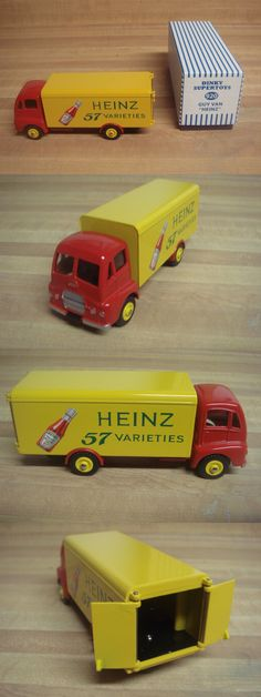 Diecast Toy Vehicles 51023: Atlas Dinky Supertoys Guy Heinz 57 Varieties Truck Mint Boxed Diecast No. 920 -> BUY IT NOW ONLY: $60 on eBay!