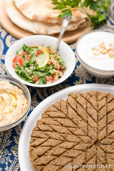 Lebanese kibbeh! MAde with Meat and Burgul and best served with either Yoghurt and Cucumber or Hummus!   Try it with Al Wadi Al Akhdar Hummus >> http://www.alwadi-alakhdar.com/recipe/hummus