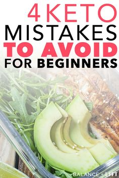 New to the keto diet and aren't sure what to expect? Watch out for these common keto mistakes and learn how to avoid them so you excel on the keto diet. Keto Food List, Food Lists, Low Carb Fruit List, Comida Keto, Starting Keto Diet, Vegan Keto, Keto Diet For Beginners, Diet Meal Plans, Easy Keto Meal Plan