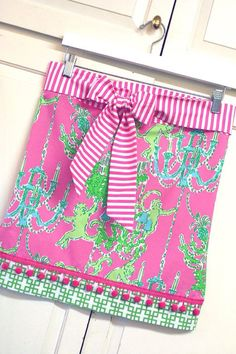Lilly Pulitzer one of a kind skirt
