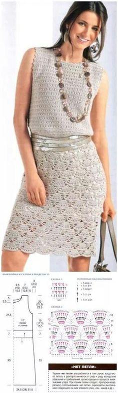 Gehaakte jurk