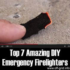 Top 7 Amazing DIY Emergency FirelightersPhoto if you want to create an emergency survival kit, or even just to be prepared for winter in the countryside, a good supply of firestarters is one of the most important things to have. Fire is always … Survival Life Hacks, Emergency Survival Kit, In Case Of Emergency, Homestead Survival, Camping Survival, Survival Prepping, Survival Skills, Emergency Planning, Survival Weapons