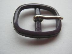 20 Stück kleine Schnallen mit Dorn,Lila, ca.33/27 mm,Steg ca.20 mm,Neu,Lübecker Knopfmanufaktur von Knopfshop auf Etsy