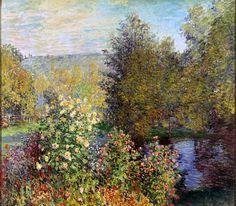 Claude Monet, Claude Monet (Corner of the Garden at Montgeron)