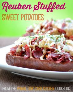 ... Potato on Pinterest | Stuffed sweet potatoes, Stuffed potatoes and