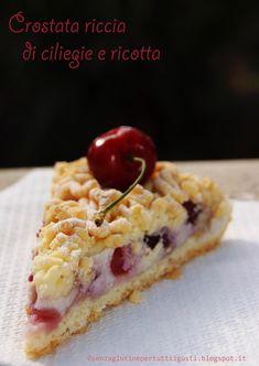 Senza glutine...per tutti i gusti!: Crostata riccia di ciliegie e ricotta senza glutin...