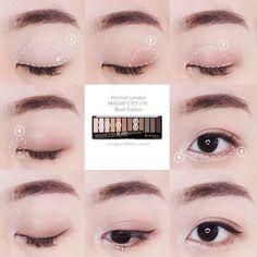Pop art makeup make up ideas Makeup Trends, Makeup Tips, Beauty Makeup, Hair Makeup, Beauty Skin, Korean Eye Makeup, Asian Makeup, Natural Eyebrows, Natural Eye Makeup