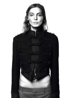 Daria Werbowy By David Sims For Vogue Paris August 2013 2