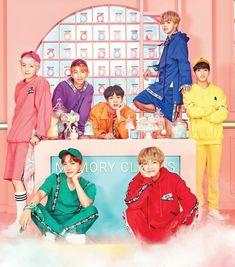 The colors are all wrong! V - green kookie - purple RM - yellow Jin - pink Suga - orange Jimin - red J-hope - blue Namjoon, Seokjin, Bts Taehyung, Bts Bangtan Boy, Bts Jimin, Foto Bts, Bts Photo, K Pop, Billboard Music Awards