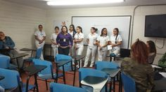 @Escolmeeduco hoy iniciamos el autoexamen contra el cáncer de mama ¡Te esperamos en la plazoleta de la institución!
