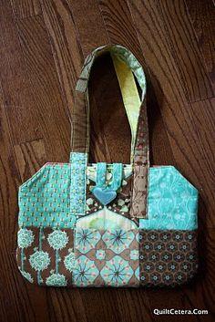 Charm pack reversible #purse #tutorial