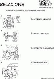 Resultado de imagem para atividades para educação infantil REGRAS DE CONVIVIO