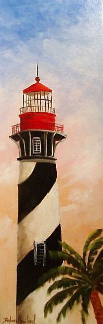 painted on canvas lighthouses | came from photos I took and painted. The painting is a lighthouse ...