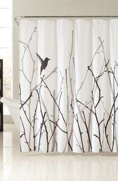 Free shipping and returns on kensie 'Vicki' Shower Curtain at Nordstrom.com. Minimalist nature-inspired graphics define a striking cotton shower curtain in neutral hues designed to complement your bathroom décor.
