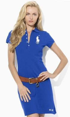 Big Pony Polo Dress - Create Your Own Short Dresses - RalphLauren.com