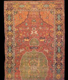 Silk and carpet textiles were a major part of the art and economy. The building of mosques was also a prominent part of Safavid architectural styles.