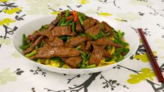 Chinese Beef, Garlic and Scape Stir-fry - Recipes - Best Recipes Ever - Scapes appear in many Chinese dishes, none more delicious than this one to serve over cauliflower rice. -make paleo substitutes Stir Fry Recipes, Beef Recipes, Cooking Recipes, Recipies, Cooking Rice, Cooking Bacon, Fast Recipes, Quick Stir Fry, Beef Stir Fry