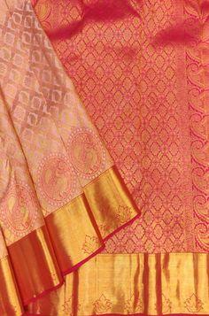 Indian Bridal Sarees, Bridal Silk Saree, Saree Wedding, Kanjivaram Sarees Silk, Pure Silk Sarees, Gold Silk Saree, Wedding Saree Collection, Lakshmi Images, Lehenga Online