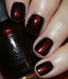 OPI Black to Reality holiday 2018 Nail polish and Manicures Nagellackfarben OPI Black to Reality holiday 2018 – Nail polish and Manicures Cute Nails, Pretty Nails, Nagellack Trends, Colorful Nail Designs, Nagel Gel, Opi Nails, Nail Polish Colors, Opi Polish, Black Nail Polish