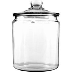 Anchor Hocking 1/2 Gallon Heritage Hill Glass Jar with Cover