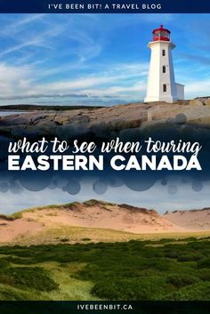 Planning on touring Eastern Canada? Don't miss these Canadian destinations in Ontario Quebec New Brunswick Nova Scotia and Prince Edward Island. Toronto Canada, Canada Tours, Prince Edward Island, Ottawa, Quebec, Montreal, Canadian Travel, Canadian Rockies, Canadian Food