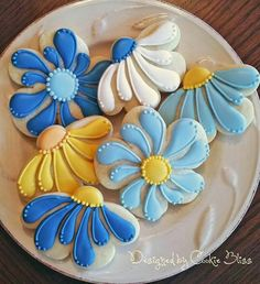 Cookie Bliss:  lazy daisies
