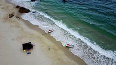 大人気の「大梅沙ビーチ」「小梅沙ビーチ」の東側に位置する穴場スポット、背仔角ビーチ(2017年5月31日撮影)。(c)CNS/陳文 ▼8Jun2017AFP|空から見た深セン http://www.afpbb.com/articles/-/3130472 #深圳 #Shenzhen