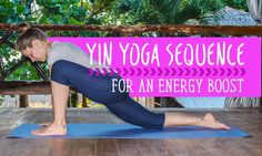 Yin Yoga Sequence to Boost Your Energy.Finding deep relaxation, greater energy, and heightened flexibility doesn't have to take long. Try this quick yin yoga sequence to boost your energy. Bikram Yoga, Ashtanga Yoga, Vinyasa Yoga, Yin Yoga Sequence, Yoga Sequences, Yoga Poses, Yoga Flow, Yoga Meditation, Different Types Of Yoga